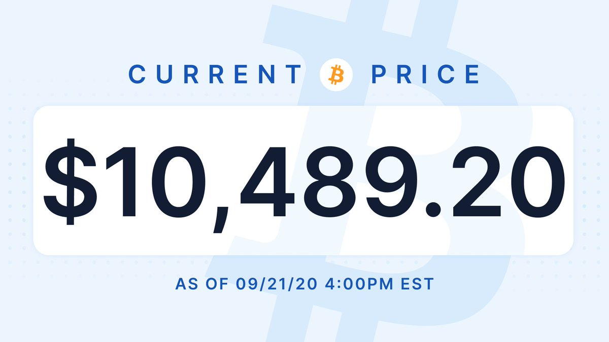 Your daily #bitcoin price update https://t.co/r8VXd40lLe