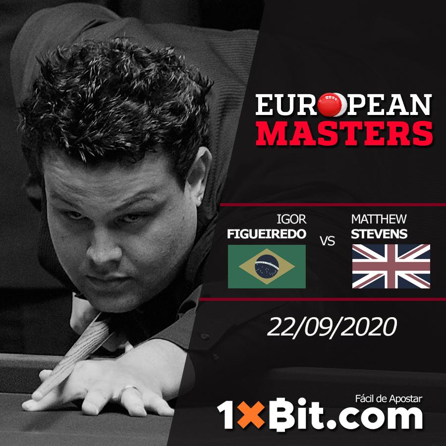 https://t.co/9T3yOrtfV6 #EuropeanMasters: Este martes se realizara el encuentro de #Snooker que enfrenta a #MatthewStevens y #IgorFigueiredo. #1xbit #ball #billiards #ballpool #snookertime https://t.co/e4uYNgfGef