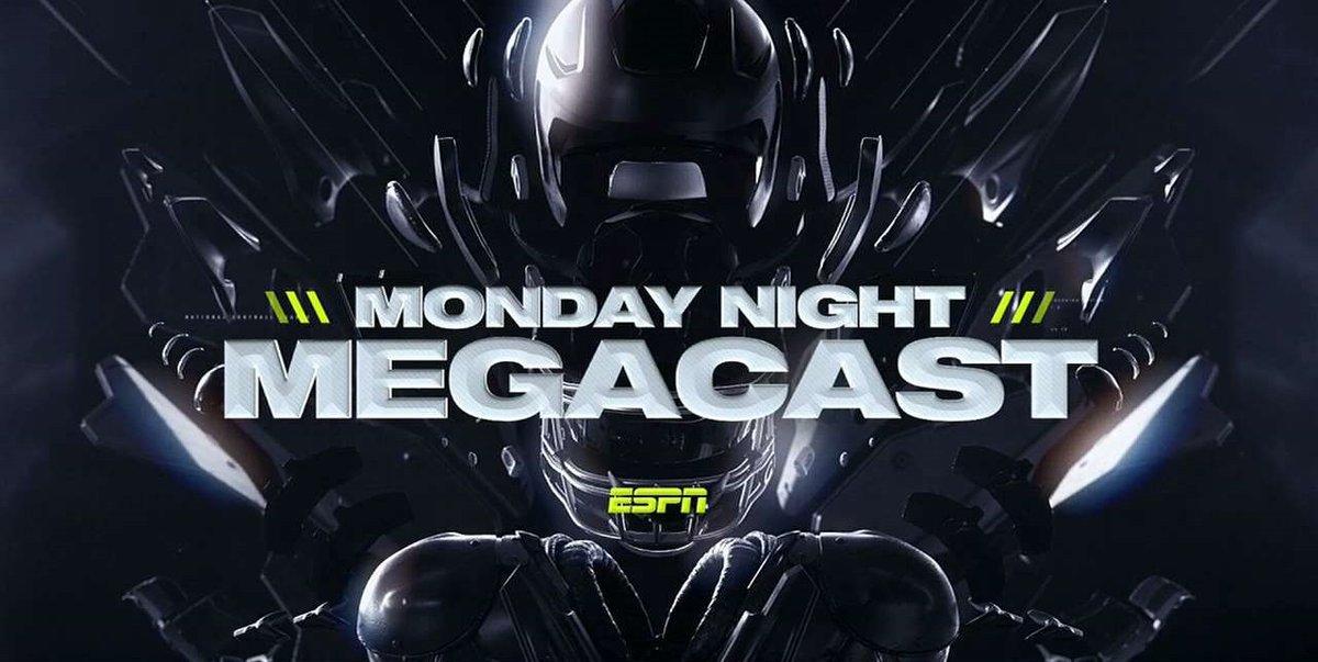 Still to come on ESPN2's #MNF MegaCast  🏈 @AlabamaFTBL's Nick Saban 🏈 @ClemsonFB's Dabo Swinney ⚾️ @AROD  🏈 @PatMcAfeeShow  🏀 @mcuban https://t.co/sO3lkQizL4