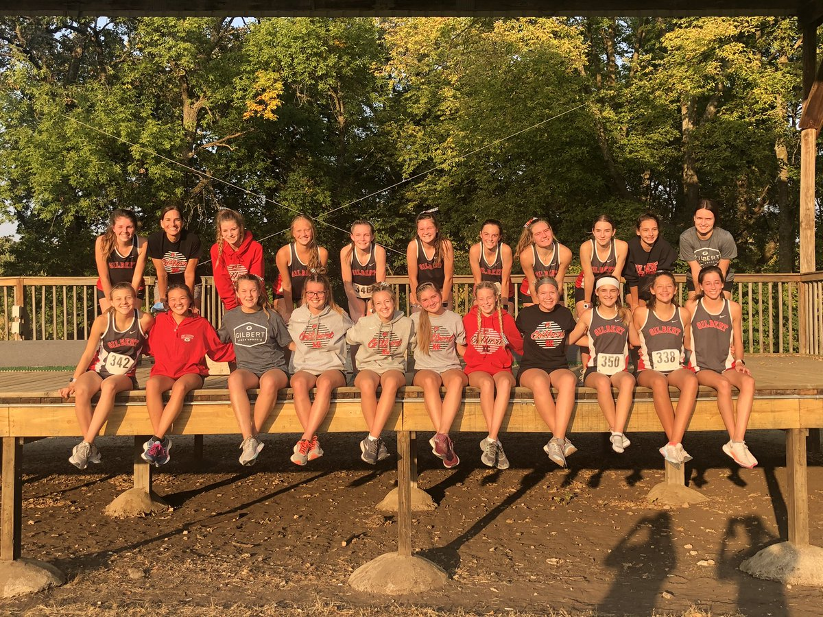 So proud of this team...JV/Varsity sweep at Humboldt. Also....shout out to our MS girls CC team with their W at the North Polk Invite! #tigerstogether #rise https://t.co/scixfalWNe