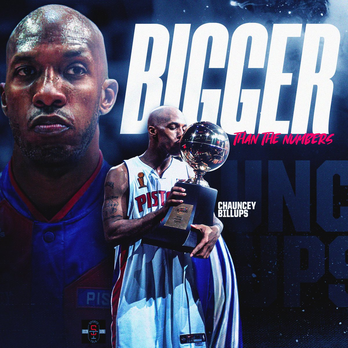 """My series """"Legends Circle"""" featuring the stories of two future Hall of Famers. Chauncey Billups-Bigger than the Numbers and Chris Webber- Dominant by Nature. Chauncey's the ultimate PG/winner and Chris Webber embodied the """"Power"""" forward position. Stay tuned. #TalkSoon https://t.co/uSdYCQxl0k"""