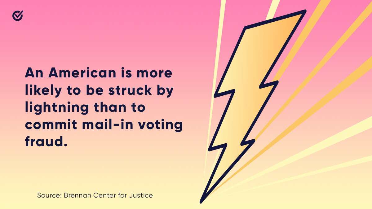 Quick reminder on #NationalVoterRegistrationDay… ⚡️ whenweallvote.org/votebymail