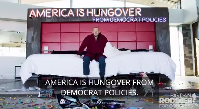 An incredible non-traditional video from a non-traditional candidate! Must watch and must support @DanRodimer for the swing Vegas district #CD3 to help us all #FirePelosi https://t.co/EWU1Itf9l6