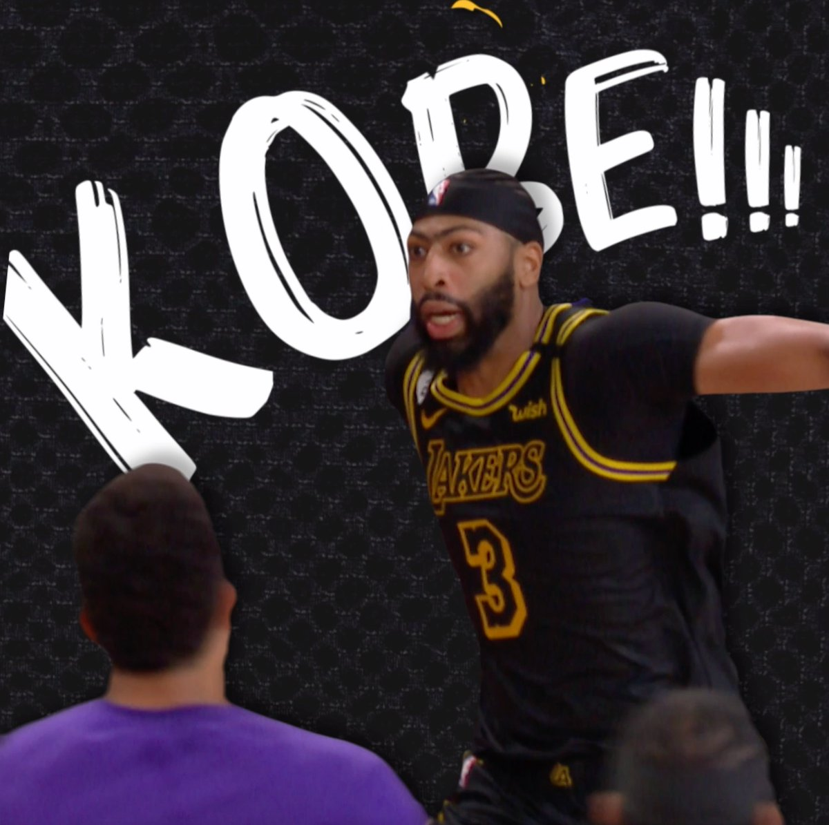 """Only one thing to say after hitting a Mamba shot: """"KOBE"""" https://t.co/6K18dAz2ni"""
