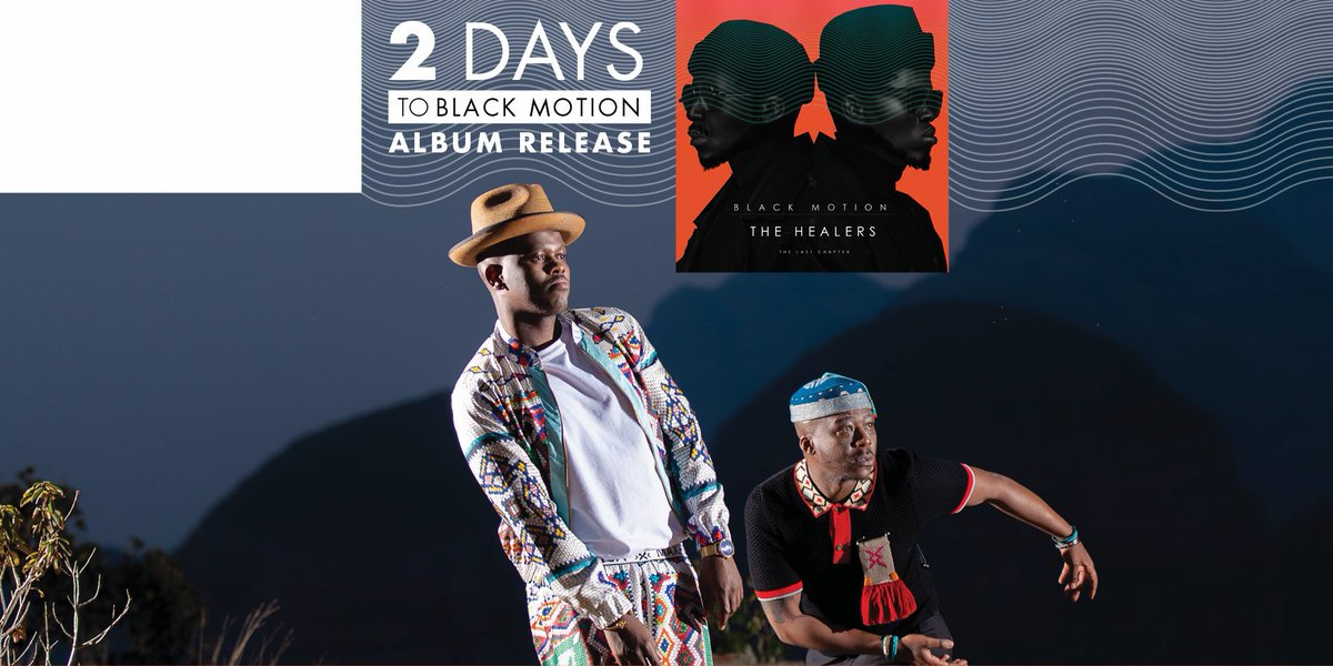 The Healers - The Last Chapter. Just 2 more sleeps and we will be dancing again..!  #10YEARSOFBLACKMOTION #THEHEALERSTHELASTCHAPTER https://t.co/5W33voneYF