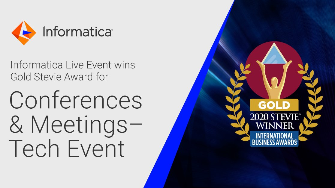 We also won gold in the Conferences & Meetings - Tech Event category! 😊 https://t.co/CS8aNU3mbZ