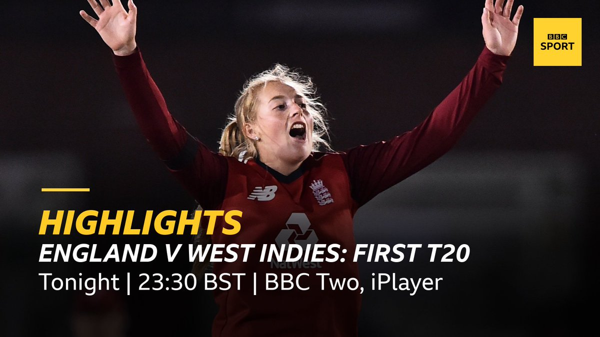 Head over to @BBCTwo now to watch all the highlights from the first international womens cricket match since March. Or catch it later on @BBCiPlayer here 👉 bbc.in/2FYN1x6 #bbccricket #WomensCricketMonth