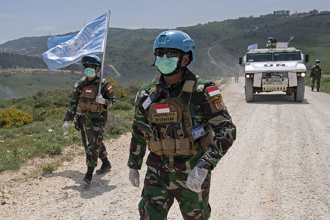 Peacekeepers #WearAMask to protect each other and the communities they serve.   For more on @WHO mask guidance 👉https://t.co/3JEAnQJh7g #A4P #UNGA https://t.co/YyrmwdOiWa