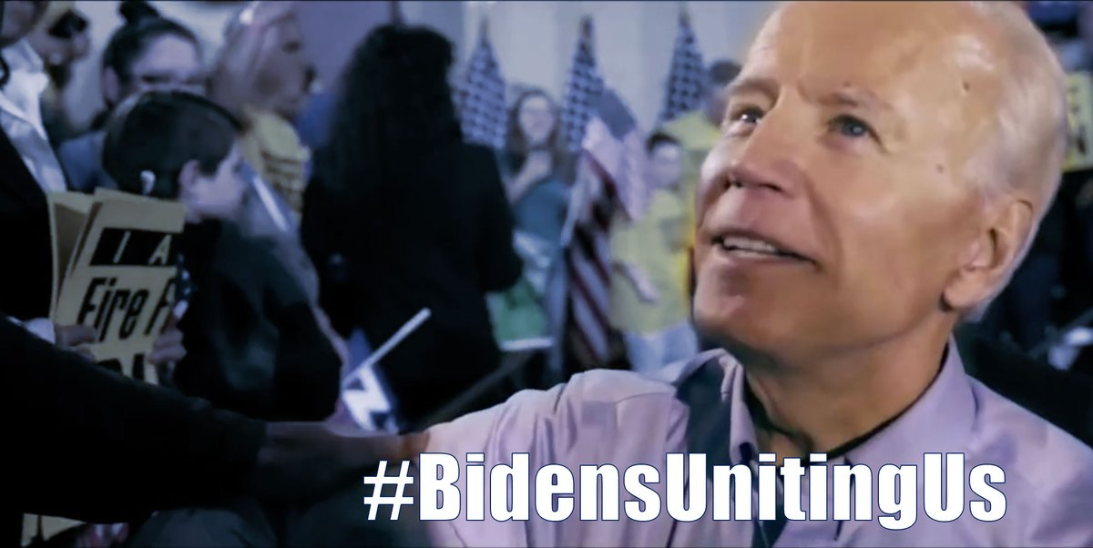 New 📺📺📺: #BidensUnitingUS  And @JoeBiden is the only person who can. https://t.co/QsM8KgjxmZ
