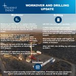 Image for the Tweet beginning: Workover and Drilling Update RNS
