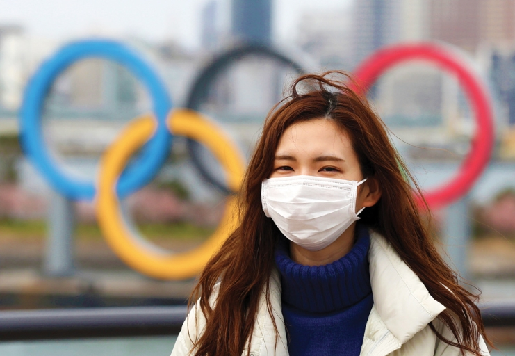"""The Japanese government will """"set up a system to exempt athletes"""" competing at the #TokyoGames from """"entry restrictions currently placed on 159 countries and regions"""" due to #COVID19, per @kyodo_english.  🌍: https://t.co/EY2U7ZDO87 https://t.co/Mex5aA0d7Q"""