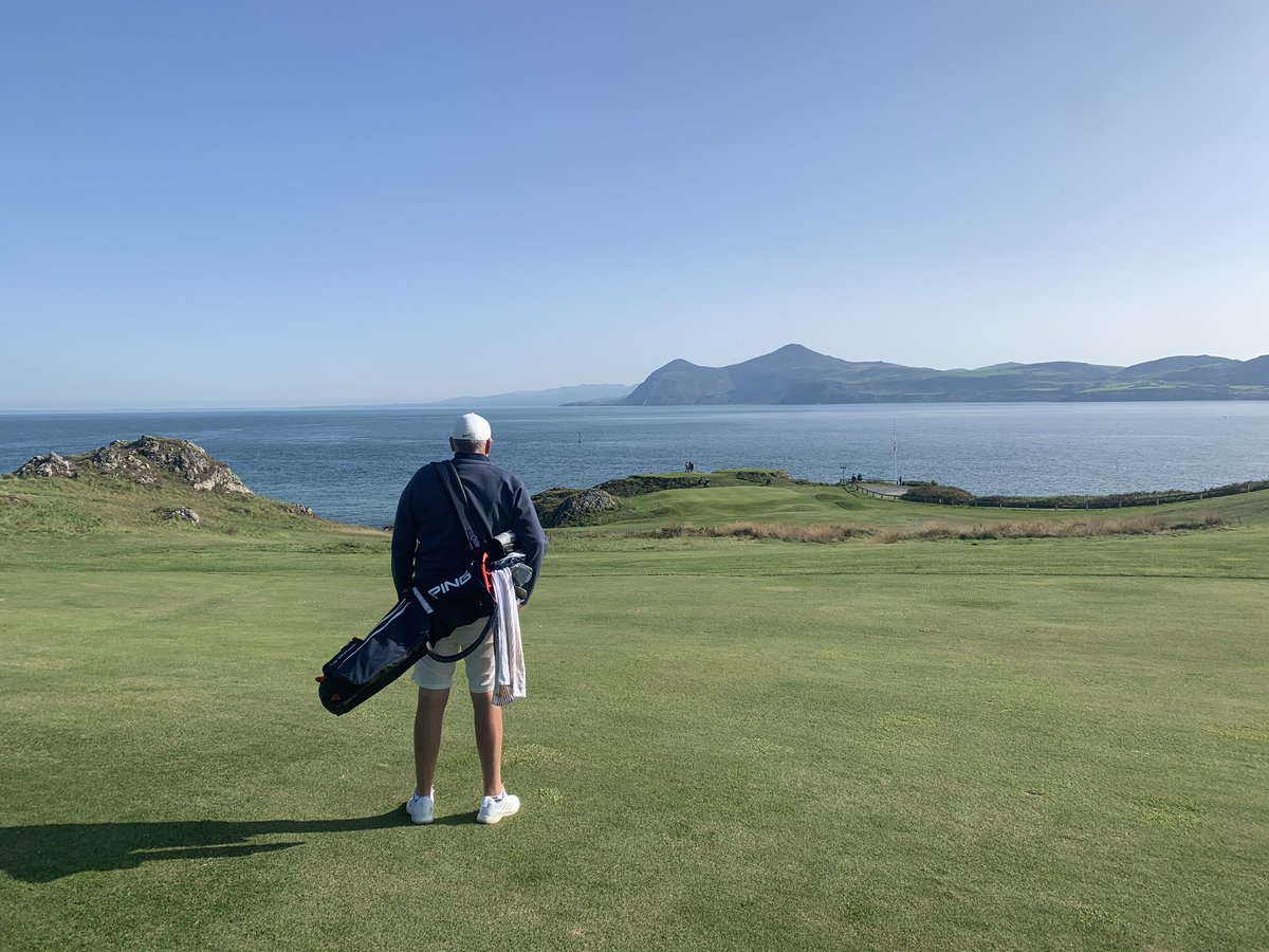 You didn't disappoint @NefynGolfClub on Sunday! It was well worth the 400 extra miles... Can't wait to play the 🔵 nine holes again very soon!! 🏴󠁧󠁢󠁷󠁬󠁳󠁿 #Nefyn https://t.co/EK5SyjzbCd