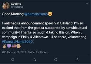 """An @abcnews spokesman says the voters told the network they were undecided. No comment on whether they did any vetting themselves.  Among the posts they missed, an endorsement of Kamala Harris from a woman who called Trump a """"pathetic"""" """"fucking moron"""" https://t.co/cYW4SUba2c"""