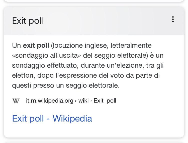 #exitpoll
