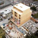 Image for the Tweet beginning: 6 storeys in 6 weeks.