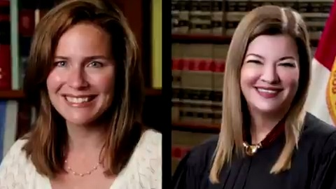 A look at Amy Coney Barrett and Barbara Lagoa - the conservative judges Trump is considering to replace the late justice and feminist icon Ruth Bader Ginsburg on the U.S. Supreme Court https://t.co/8C4Qd1wMTR https://t.co/NwJbbB86yi
