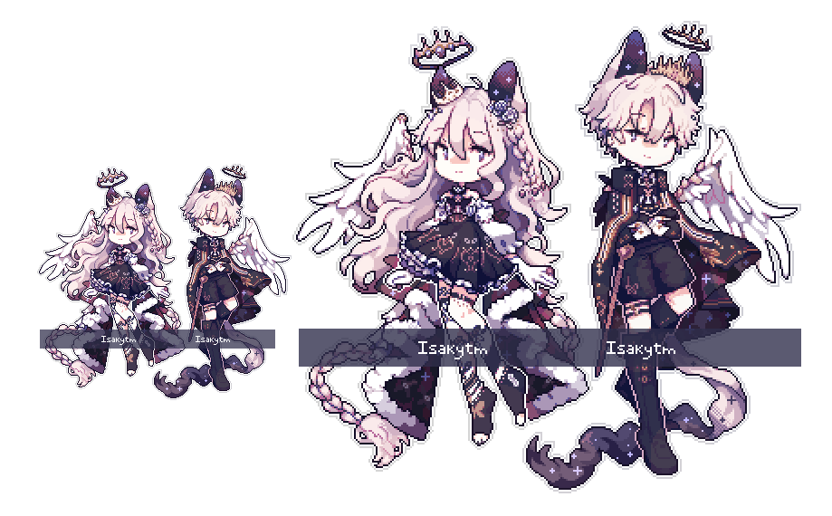 sprite commissions for @isakytm !! thank you so much again T _ T ♥ https://t.co/R53EH6F6su