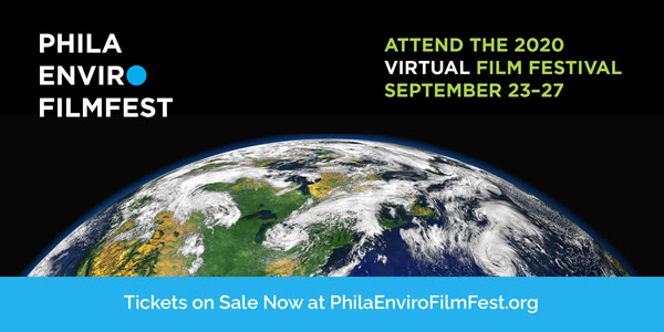 The 2020 virtual Philadelphia Environmental Film Festival begins THIS Wednesday, September 23! Have you purchased your passes yet? https://t.co/i4TwooOdg1 https://t.co/s34lIIDyyx