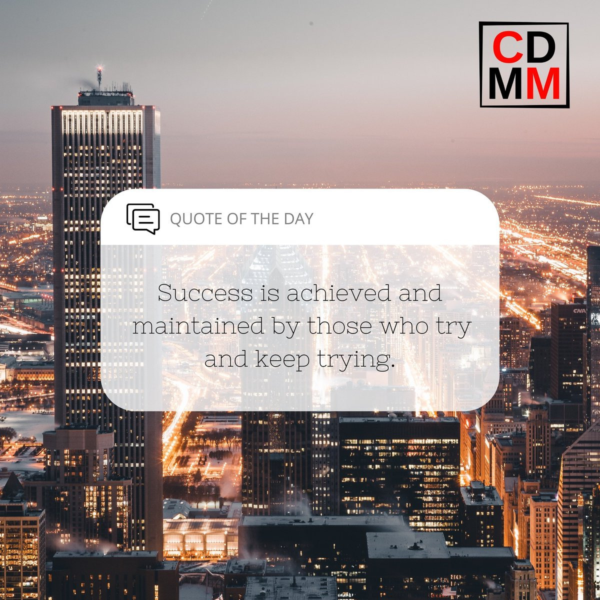 Success is achieved and maintained by those who try and keep trying.  #success #achieve #maintain #successful #keepthriving #keeptrying #try #tryagain #CDMM #chamisadynastymediamoguls #marketing #digitalmarketing #business #online https://t.co/0QtAUIJUQW