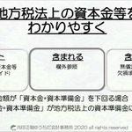 Image for the Tweet beginning: #法人事業税 #資本金等 #法人税法上 #地方税法上 #わかりやすく