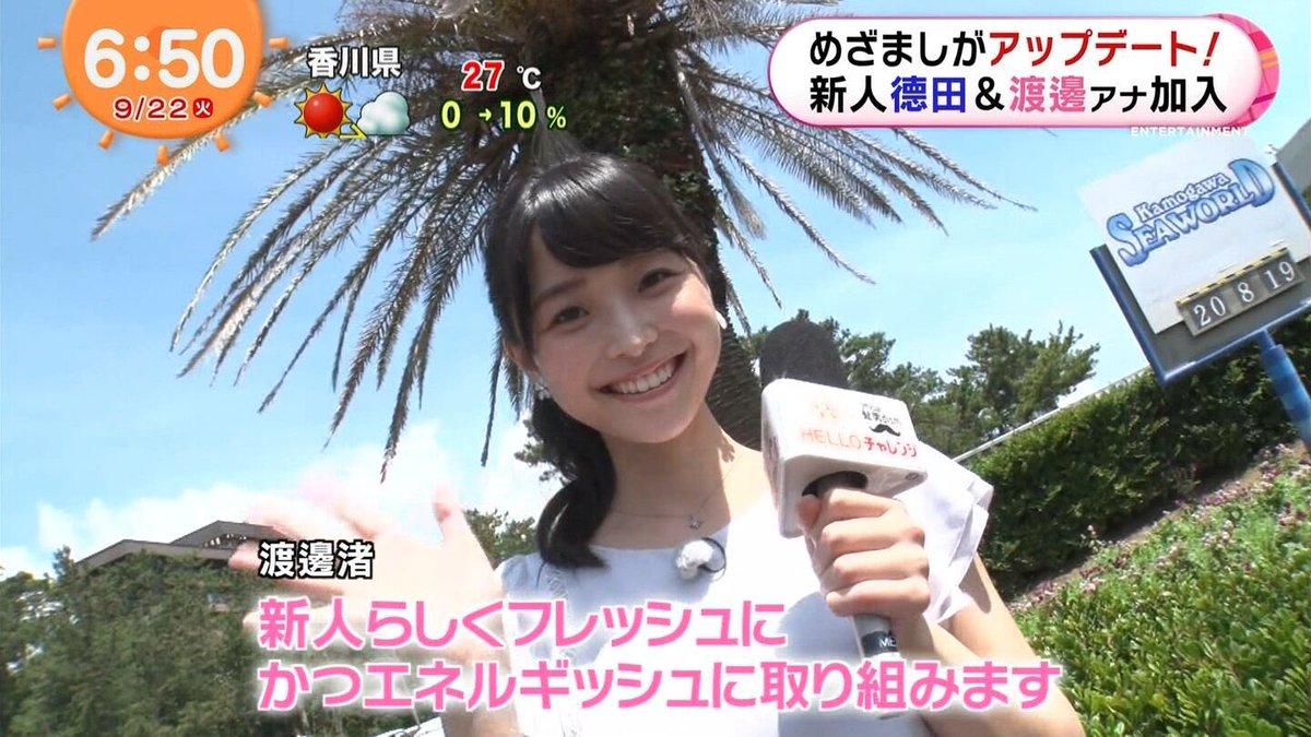 渡邊渚めざましテレビ