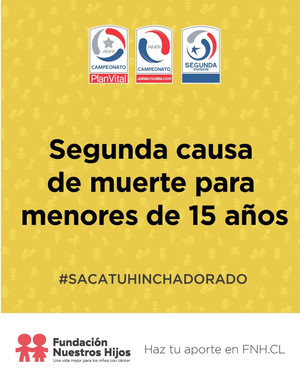 ⚽🇨🇱 El Fútbol Chileno y Club Deportes La Serena se ponen la camiseta por los niños y niñas con cáncer de nuestro país e invita a toda su comunidad.  🙌♥️ Necesitamos lo mejor de ti. #SacaTuHinchaDorado y apoya el trabajo de Fundación Nuestros Hijos @anfpchile  #SeptiembreDorado https://t.co/RxFFF3KikF