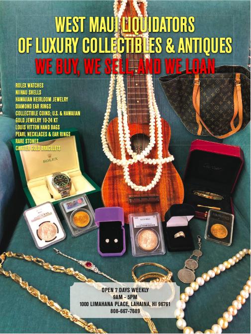 West Maui Gold & Loan Buys & Sells Gold, Silver, Diamonds, SurfBoards, Musical instruments, Laptops, iPhones,Tools, Sunglasses, Fishing Rods & Reels https://t.co/ZFAVbAuiq0 https://t.co/jfCCSWsavp #808-667-7689 #pawnshop #mauipawnshop #hawaiipawnshops #maui #westmauigoldandloan https://t.co/bVtvumRnpK