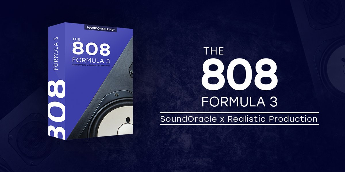 Our largest 808 kit! 808 Formula 3 comes with 88 HQ one shots, 20 audio loops, 20 MIDI loops, & 20 chord progressions! This pack is filled with every style of 808! https://t.co/OVhfRYXWVC @SoundOracle #MusicProducer #BeatMaker https://t.co/cOPVuJx9qg