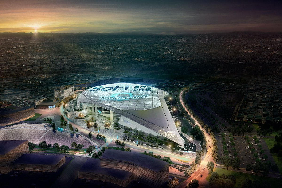 The stadiums of tomorrow are actually here today, and they're ready to give fans a wealth of new experiences thanks to technologies such as 5G, Wi-Fi 6 and the Internet of Things—and the network infrastructure from Cisco and other providers.   ⚡️ @Cisco: https://t.co/osSupQv7cQ https://t.co/JAMEOPfRIK