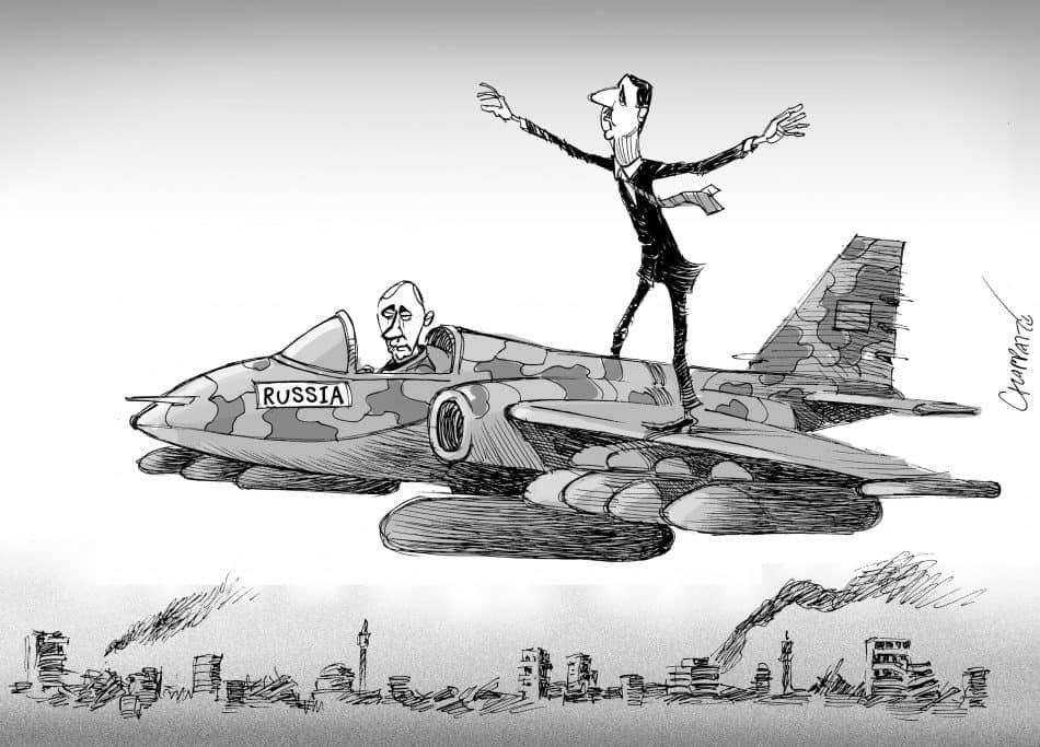 #Syria #Russia © Patrick Chappatte