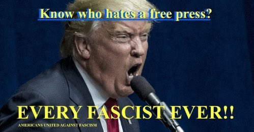 @JeffreyGoldberg The greatest enemy to #FascistTrump and #Fascism is not the media or the #FreePress itself! INSTEAD the GREATEST enemy to them both is the truth and they know that and it's why they keep attacking them! #FactsMatter  #FascismIsHere #FascistTrump https://t.co/hjHc0BDFAT