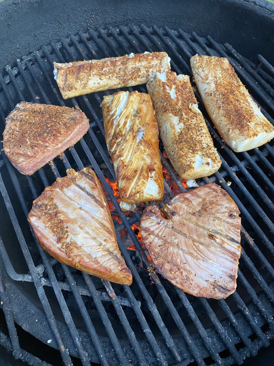 #Grilled Tuna and Mahi tonight for dinner. https://t.co/h2mhujTOhl