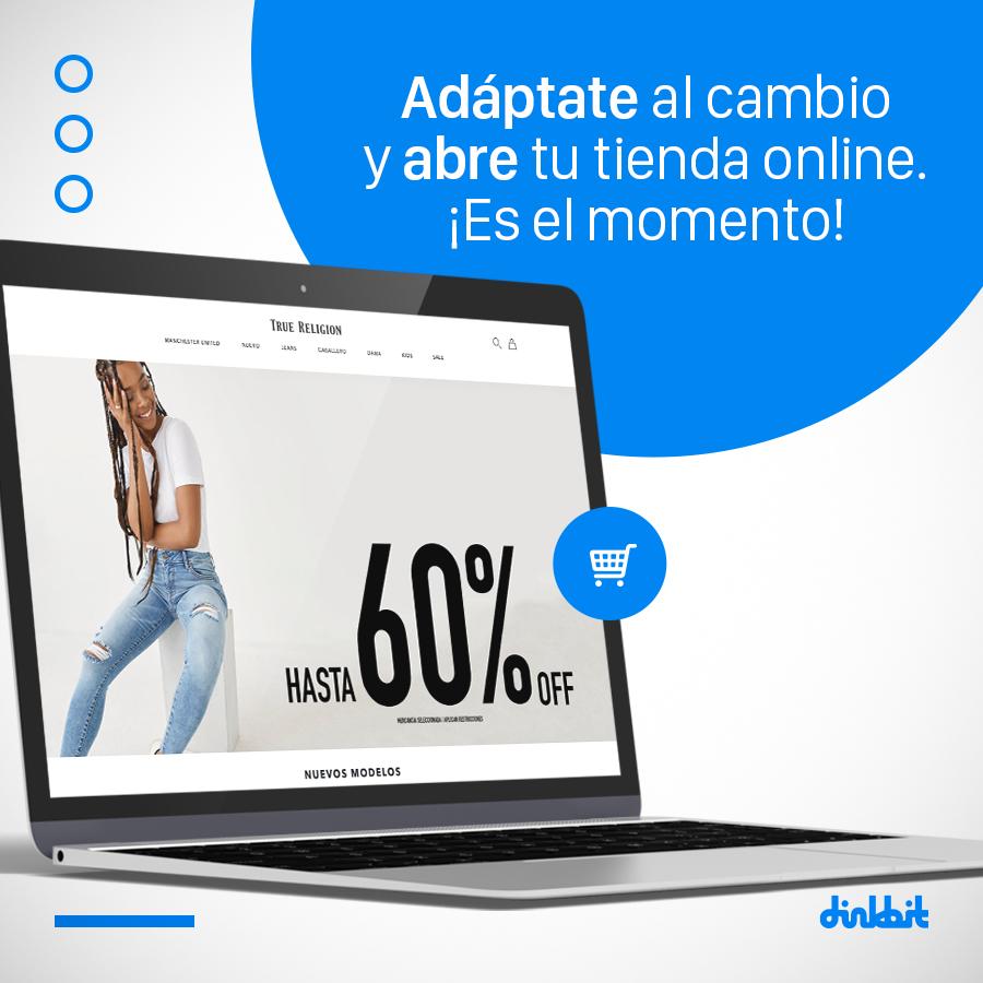 ¿Sabes que durante la contingencia sanitaria las ventas online se han incrementado un 55%?  Adáptate al cambio y abre tu tienda online, ¡es el momento! Contáctanos vía INBOX y trabajemos juntos. https://t.co/Il12xJ9Jv1  #HagámosloDigital #TiendaOnline #Digitalízate https://t.co/Vm5lVqeG0N