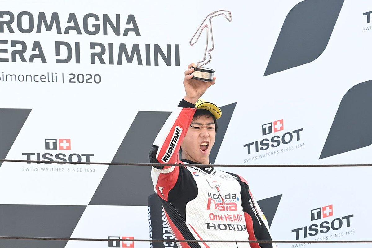 【AUTOSPORT web】 Moto3:3位を獲得してランキング2位につける小椋藍「結果はポテンシャル以上のものだった」/MotoGP第8戦: … https://t.co/Tq6kHk2N0l #F1JP https://t.co/wa9moAOFa0