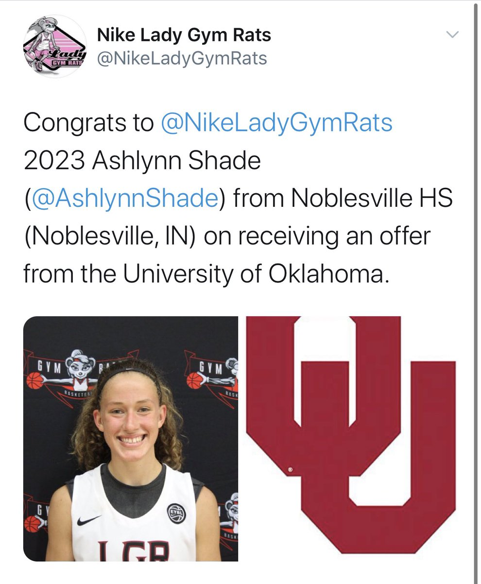 Brandon Clay College Recruiting Profile: #BClayRecruiting x @bclayrecruiting  '23 @AshlynnShade (IN) is emerging as an elite guard prospect nationally.  Both Oklahoma and UCLA have offered.  GET YOUR OWN RECRUITING PROFILE: https://t.co/tYNfZLbdO2 @natjmorse https://t.co/DUEeAMcM98