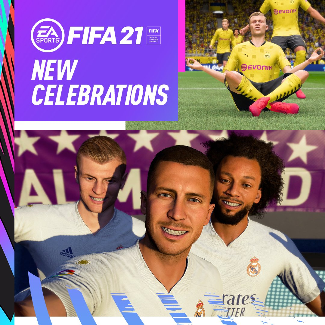 From 🧘‍♂‍ to 🤳, see how to take your Celebrations game to the next level in #FIFA21 💪 https://t.co/t8wlkJRD0D