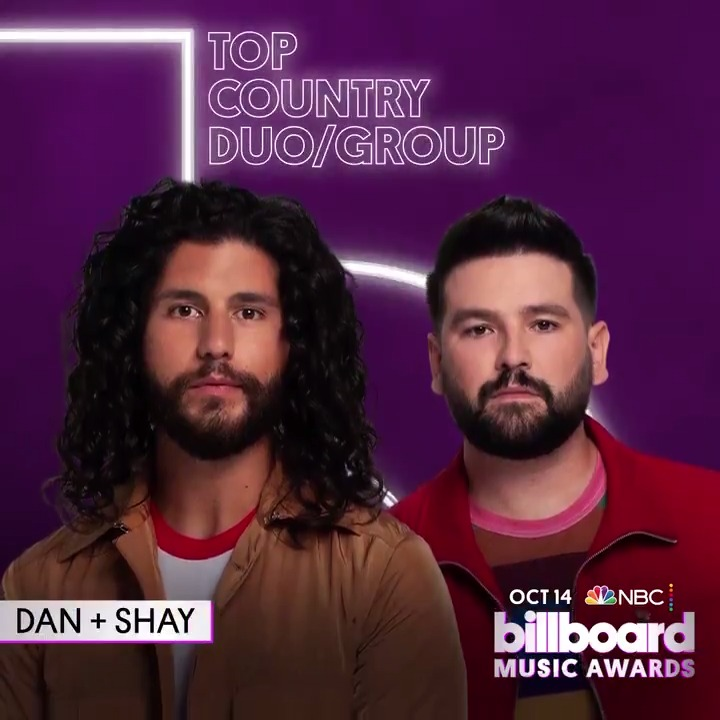 #BBMAs Top Country Duo/Group: 🟣 @DanAndShay 🟣 @FLAGALine 🟣 @OldDominion