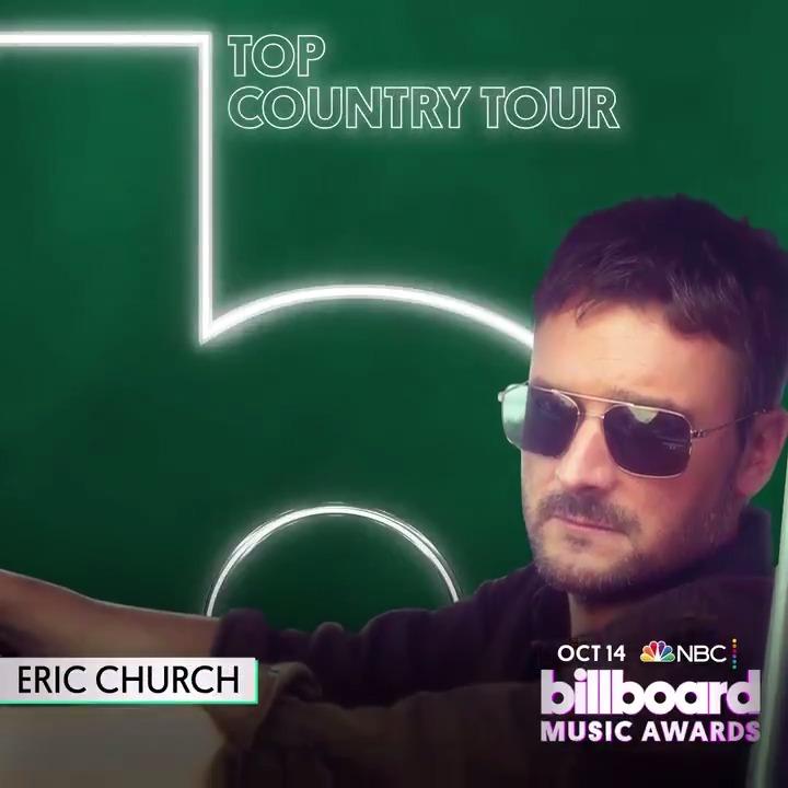 #BBMAs Top Country Tour: 🟣 @ericchurch 🟣 @FLAGALine 🟣 @GeorgeStrait