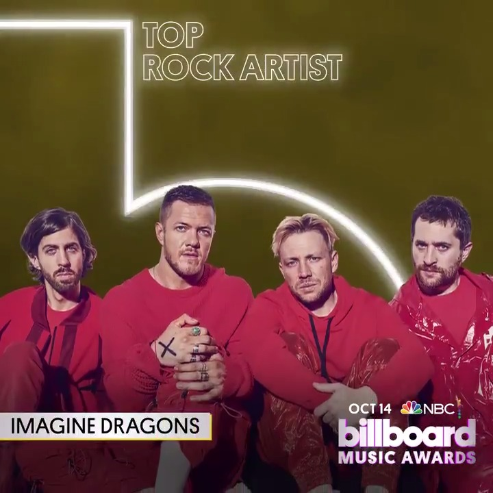 #BBMAs Top Rock Artist: 🟣 @Imaginedragons 🟣 @PanicAtTheDisco 🟣 @tameimpala 🟣 @Tool 🟣 @twentyonepilots