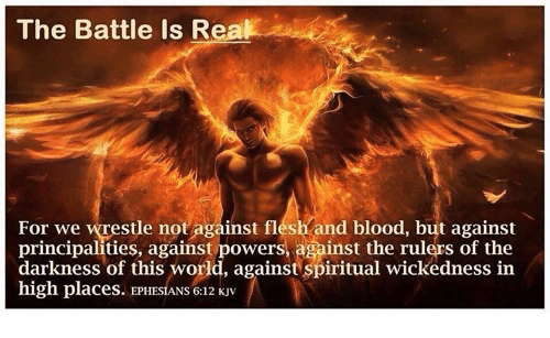 The BATTLE is REAL!  For we wrestle not against flesh and blood, but against principalities, against powers, against the rulers of the darkness of this world, against spiritual wickedness in high places. #JusticeForAll  #EndRacism  #StopKillingUs  #BlackLivesMatter  #StayWoke https://t.co/FXufhbwZ2Z
