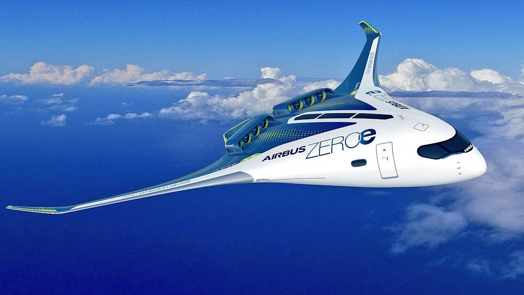 """Exciting news! So glad Europe is looking to the future at last.  """"Airbus has unveiled plans to produce the world's first zero-emission commercial planes to run on hydrogen by 2035. Three different  concepts will explore different approaches to achieving zero-emission flight."""" https://t.co/4QmuWXyaPN"""