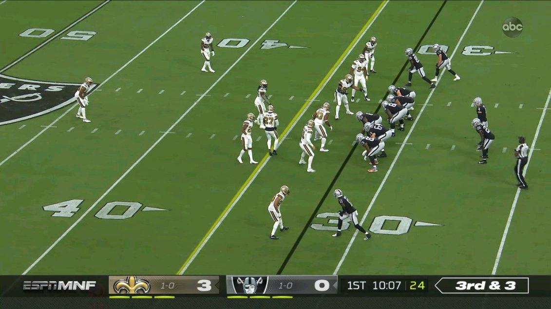 ESPN celebrates the #NFL in Las Vegas with multi-network presentation of @Saints vs @Raiders across @ABCNetwork, ESPN, ESPN2, @ESPNDeportes https://t.co/r4z7cTtZGT