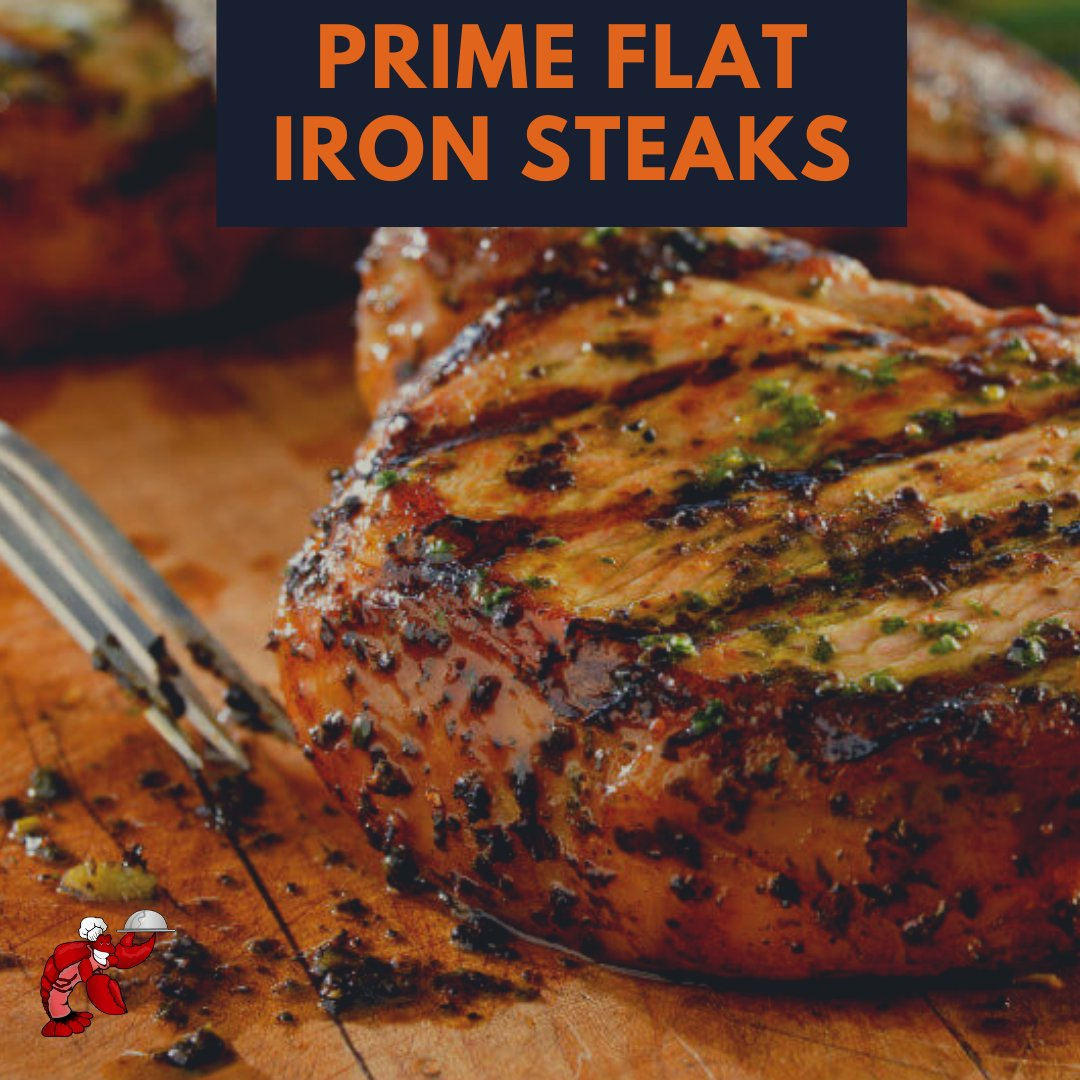 Prime flat iron steak is extra tender and juicy with a robust beef flavor that's deliciously grilled, broiled, or pan-fried.     Order delicious food now at 👉 Think Bon Appétit https://t.co/RJDk7ubzds   #food #bonappetit #gourmetfood #foodies #foodlovers #gourmet #steak #Steaks https://t.co/Ai3pZP82op