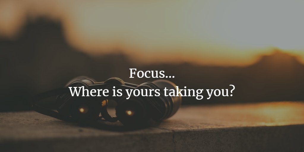 Focus. One of the single most determining factors in your success. #entrepreneur #quote #motivation #focus https://t.co/3AizUrebT0