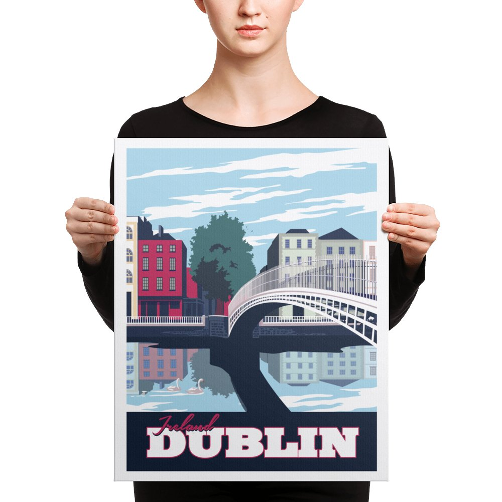 Retweet and Follow to enter our monthly #vintage #travel #poster #giveaway  #Dublin Ireland | Vintage-Style Travel Poster | Canvas Print   https://t.co/9bHOggrIJH   #etsy #vacation https://t.co/ctb9fk1OTP
