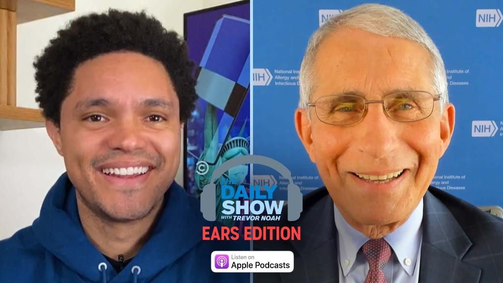 Trevor highlights the tireless work of iconic Supreme Court Justice Ruth Bader Ginsburg, and Dr. Anthony Fauci discusses the state of the coronavirus pandemic in the U.S.  Listen and subscribe: https://t.co/XHN1gegeTC https://t.co/WvR7etxTgh