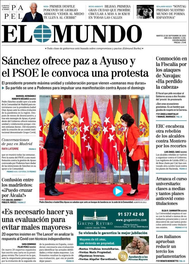 EL MUNDO https://t.co/krwyraMdNp #r2p #ElMundo #International #Spain #Espana #Espagne #UE #Europe #USA #Obama #Biden #Trump #Macron #Coronavirus #Covid19 #PedroSanchez #Ibex35 #Euro #Poutine #Podemos #FelipeVI #JuanCarlos #Beirut #Messi #CayetanaAlvarezdeToledo #IsabelDiazAyuso https://t.co/TKiPjreEaA