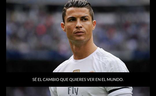 #Ronaldo cita a #Gandhi:   #frases #citas #verdad #ego #meme #gente #futbol #reflexion #realidad #frasedeldia #inspiracion #expiracion #poesia https://t.co/zHqFUEimWB