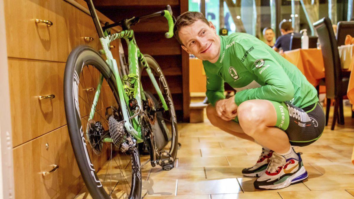 Tour de France bikes: New bike day for green jersey winner Sam Bennett | https://t.co/fWz0VkaJNR https://t.co/ZgwZzIvhGP