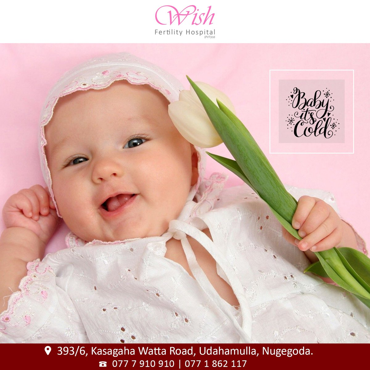 Good Morning ! ❤️  New Hope ❤️ New Life ❤️ Baby for you❤️ #wish #fertility #IVF #Hospital https://t.co/QrmE07h7m5